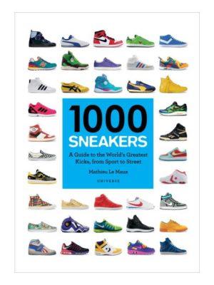 1000 sneakers boek