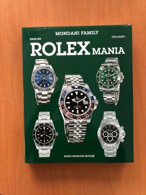Rolex Mania boek Mondani Books