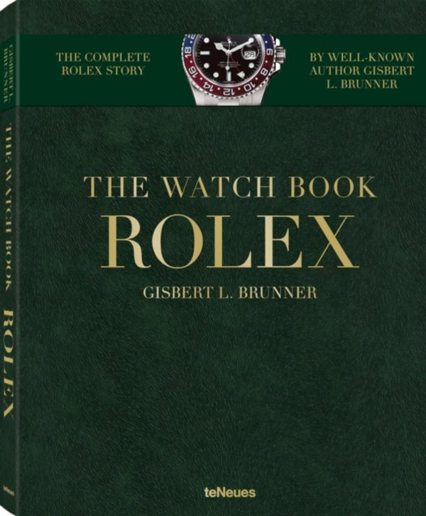 The watch book Rolex gouden letters