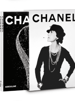 Assouline Chanel set of three: fashion, fine jewelry and perfume