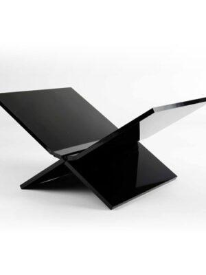 Boeken standaard (Medium) zwart