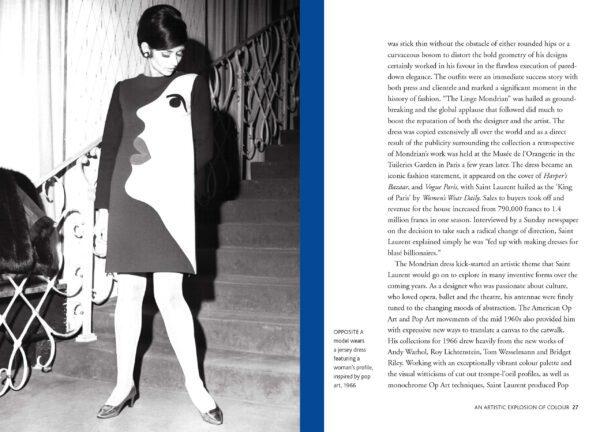 Little book of Yves Saint Laurent