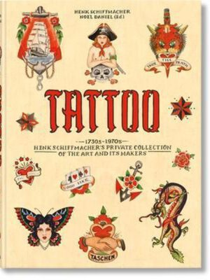 Henk Schiffmacher's ( Limited Edition ) Tattoo Book