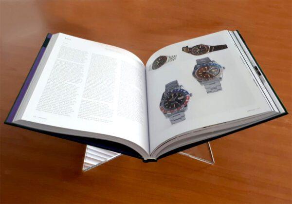 Perspex boekenstandaard 4502