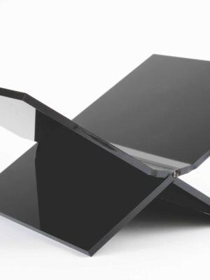 Boeken standaard (Medium) mat zwart